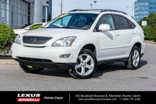 Used 2007 Lexus RX 350 **ULTRA PREMIUM 2** *BAS MILEAGE*NAVIGATION*BLUETOOTH*CAMERA DE RECUL*TOIT*BANCS CHAUFFANTS*CUIR*ET ENCORE PLUS* for sale in Montréal, QC