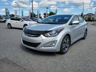 Used 2015 Hyundai Elantra GLS, Caméra, toit ouvrant, Mags, sièges chauff,!!! for sale in Gatineau, QC