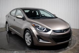 Used 2016 Hyundai Elantra GL A/C BLUETOOTH for sale in St-Hubert, QC