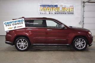Used 2016 Jeep Grand Cherokee Summit for sale in Watrous, SK