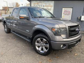 Used 2014 Ford F-150 ***FX4,SUPERCREW,CUIR,TOIT,MAGS,TURBO*** for sale in Longueuil, QC