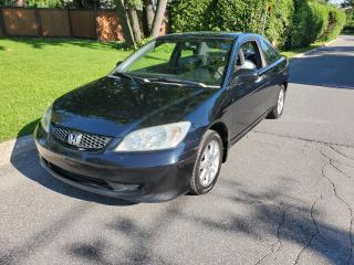 Used 2005 Honda Civic LX for sale in Roxboro, QC