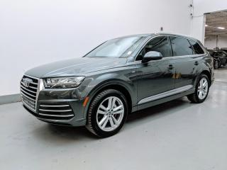 Used 2017 Audi Q7 TECHNIK/S LINE/LUXURY PKG/LANE KEEP ASSIST/BLIND SPOT ASSIST! for sale in Toronto, ON