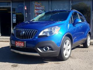 Used 2016 Buick Encore FWD 4DR LEATHER for sale in Bowmanville, ON