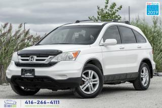 Used 2010 Honda CR-V EX-L|No Accidents|Leather|Roof| for sale in Bolton, ON
