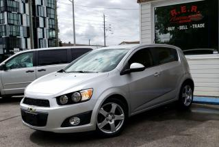 Used 2015 Chevrolet Sonic LT for sale in Oshawa, ON