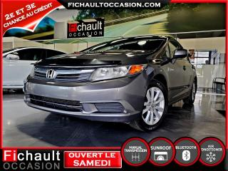 Used 2012 Honda Civic 4 portes boîte manuelle EX  *** PNEUS HI for sale in Châteauguay, QC