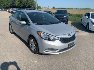 Used 2015 Kia Forte LX for sale in Waterloo, ON