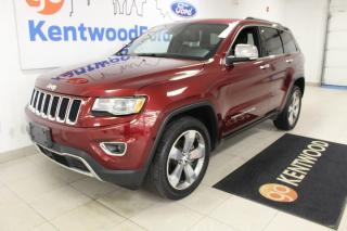 Used 2016 Jeep Grand Cherokee 3 MONTH DEFERRAL! *oac | Limited 4x4 | Leather | Sunroof | for sale in Edmonton, AB
