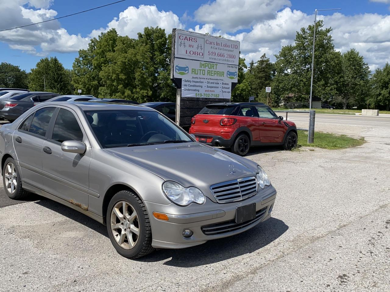 2006 Mercedes-Benz C-Class 3.0L Elegance AS TRADED SPECIAL!