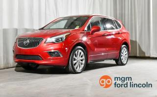 Used 2016 Buick Envision PREMIUM II AWD | CLEAN CARFAX | 5-PASSENGER SEATING | NAVIGATION | DUAL CLIMATE CONTROL | HEATED + COOLED FRONT SEATS | BACKUP CAMERA + MORE!! for sale in Red Deer, AB