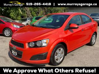 Used 2013 Chevrolet Sonic LT (Lot 2) for sale in Guelph, ON