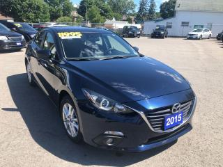 Used 2015 Mazda MAZDA3 GS, luxury package, Sunroof, Back-Up-Camera for sale in St Catharines, ON