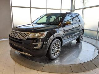 Used 2017 Ford Explorer One Owner - Low Mileage - Platinum! for sale in Edmonton, AB