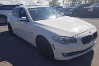 Used 2012 BMW 5 Series 535XI AWD A/C MAGS CAMERA DE RECUL TOIT for sale in St-Hubert, QC