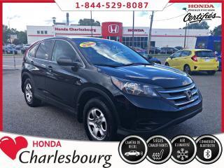 Used 2014 Honda CR-V LX **BANCS CHAUFFANTS**BLUETOOTH** for sale in Charlesbourg, QC