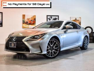 Used 2016 Lexus RC 350 RC350 | F Sport! Pkg 1 & 2! | Navi | Bl Spot | RCa for sale in Pickering, ON