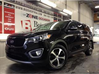 Used 2016 Kia Sorento EX V-6 AWD 7 PASSAGÉS DÉMARREUR DISTANCE CUIR !! for sale in Blainville, QC