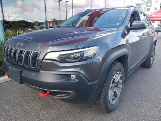 Used 2020 Jeep Cherokee *TRAILHAWK*4X4*CAMÉRA*CUIR* for sale in Québec, QC