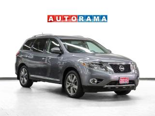 Used 2015 Nissan Pathfinder Platinum AWD Nav Leather Sunroof 360 Camera for sale in Toronto, ON