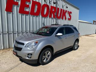 Used 2012 Chevrolet Equinox 1LT 2WD for sale in Headingley, MB