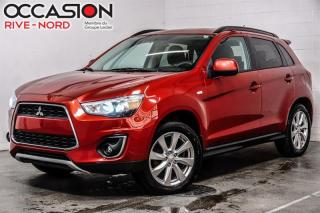 Used 2015 Mitsubishi RVR GT AWD SIEGES.CHAUFFANTS+BLUETOOTH+CAM.RECUL for sale in Boisbriand, QC