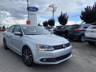Used 2014 Volkswagen Jetta Highline CUIR TOIT AUTO for sale in St-Eustache, QC