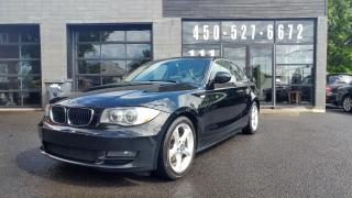 Used 2011 BMW 1 Series 128 COUPÉ - TOIT OUVRANT for sale in Beloeil, QC