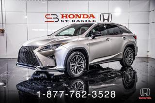 Used 2019 Lexus RX 350 RX 350 + F SPORT + LEVEL 3 + WOW! for sale in St-Basile-le-Grand, QC