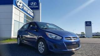 Used 2016 Hyundai Accent 4dr Sdn Auto GL for sale in Matane, QC