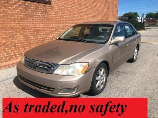 Used 2001 Toyota Avalon XLS/SUNROOF for sale in Oakville, ON