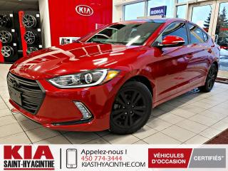 Used 2017 Hyundai Elantra ** EN ATTENTE D'APPROBATION ** for sale in St-Hyacinthe, QC