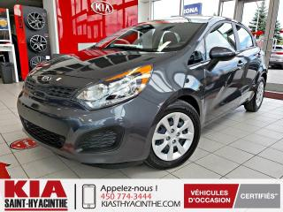 Used 2015 Kia Rio ** EN ATTENTE D'APPROBATION ** for sale in St-Hyacinthe, QC