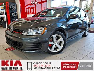 Used 2017 Volkswagen Golf GTI HB Man for sale in St-Hyacinthe, QC