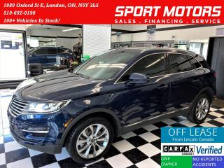 Used 2017 Lincoln MKC 2.0T AWD+Apple Play+Camera+Leather+Accident Free for sale in London, ON