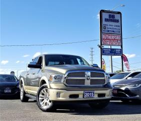 Used 2015 RAM 1500 Longhorn | Stitched Leather for sale in Brampton, ON