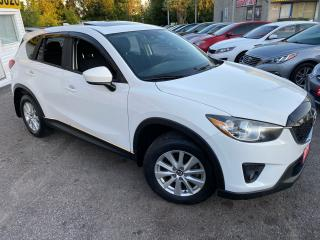 Used 2014 Mazda CX-5 GS/ AWD/ NAVI/ CAM/ SUNROOF/ BLUETOOTH/ TINTED ++ for sale in Scarborough, ON