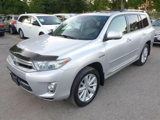 Used 2011 Toyota Highlander Hybrid LIMITED for sale in Brampton, ON
