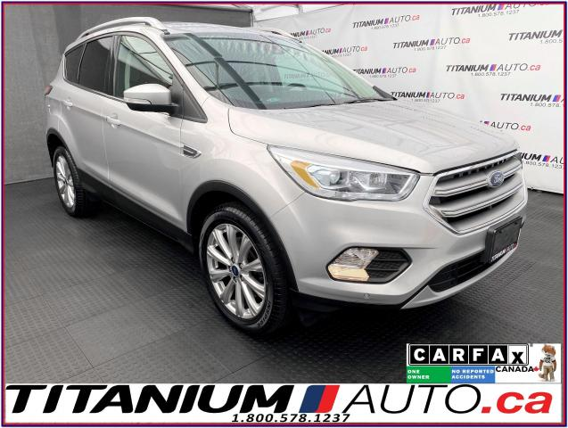 2017 Ford Escape Titanium+4X4+GPS+Camera+Pano Roof+Blind Spot+LDW