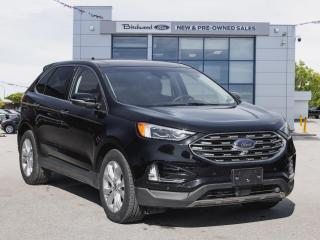 Used 2019 Ford Edge TITANIUM FORD CERTIFIED PRE-OWNED for sale in Winnipeg, MB