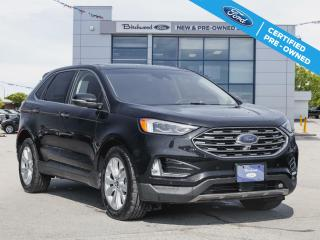 Used 2020 Ford Edge TITANIUM FORD CERTIFIED PRE-OWNED for sale in Winnipeg, MB