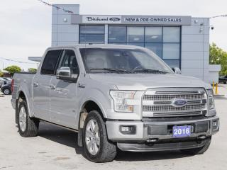 Used 2016 Ford F-150 Platinum LOW KM | NAV | BLIS | LOADED for sale in Winnipeg, MB