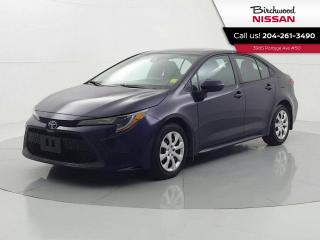 Used 2020 Toyota Corolla LE 1 owner Trade in Bluetooth Heated Seats for sale in Winnipeg, MB
