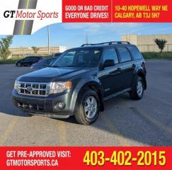 Used 2008 Ford Escape XLT | $0 DOWN - EVERYONE APPROVED! for sale in Calgary, AB