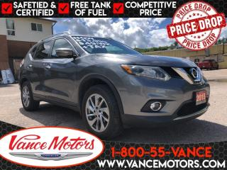 Used 2015 Nissan Rogue SL AWD...LEATHER*HTD SEATS*TOW! for sale in Bancroft, ON