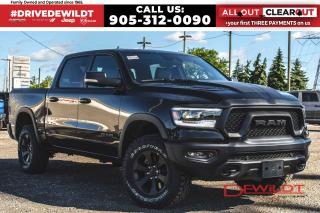 New 2020 RAM 1500 REBEL | PANO ROOF | AIR RIDE | 12in DISPLAY | for sale in Hamilton, ON