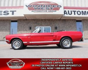 Used 1968 Ford Mustang COBRA GT CONVERTIBLE RESTO-MOD 429 SCJ 550HP for sale in Headingley, MB