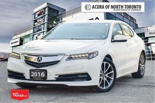 Used 2016 Acura TLX 3.5L SH-AWD w/Tech Pkg No Accident| Remote Start| for sale in Thornhill, ON