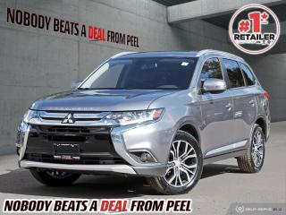 Used 2016 Mitsubishi Outlander AWC 4DR GT for sale in Mississauga, ON