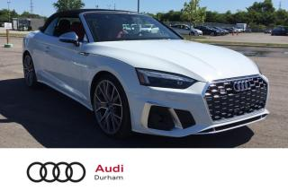 Used 2020 Audi S5 Cabriolet 3.0T Technik + 360 Cam | Driver Assist | Loaded! for sale in Whitby, ON
